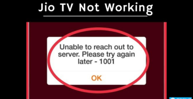 Jio TV Not Working! Problem Solved