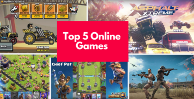 Top 5 Online Games For Android – December 2019